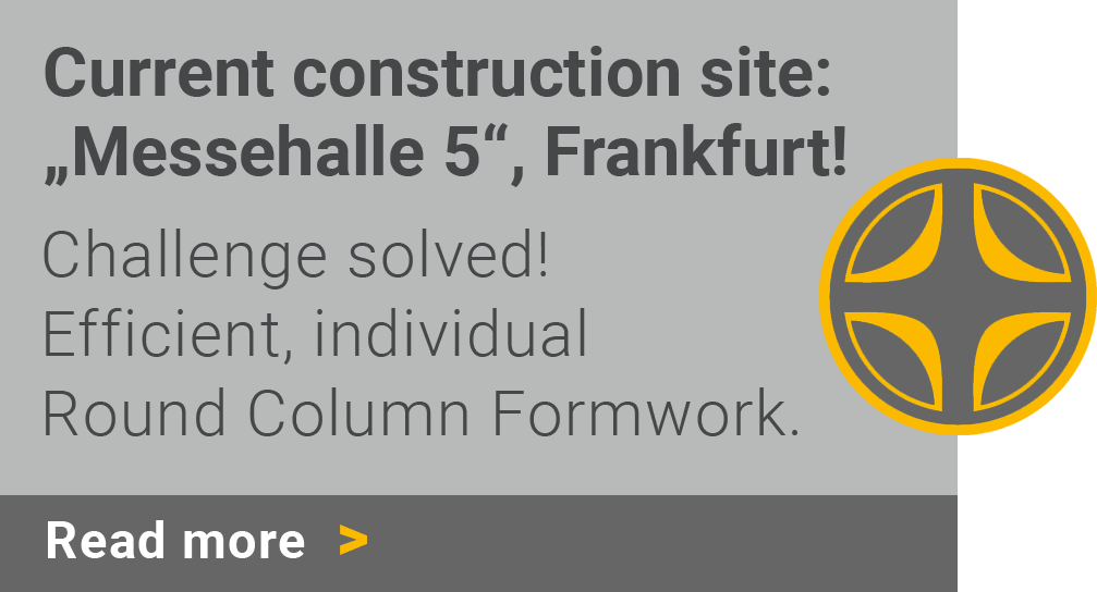 Current construction site: Messehalle 5