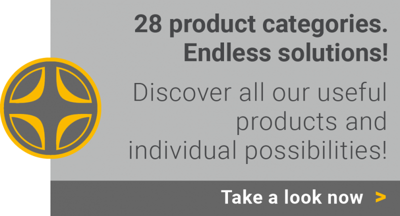 Useful products - endless solutions.