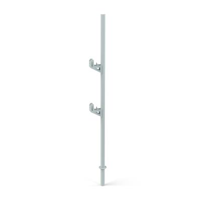 Steck-Geländerhalter für Gitterelemente