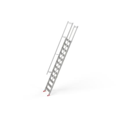 STAFE Steiltreppe L12 aus Aluminium, 12 Stufen L = 4400 mm