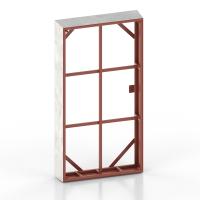 Stahl-Aussparung für Fenster und Türen