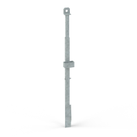 Slab stopend bar, galvanized