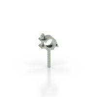 Rohrkupplung mit Einschaubende L = 100 mm