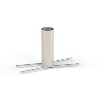 Klemmfix für Steck-Geländerhalter