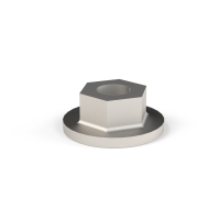 Sechskant-Bundmutter D&W 15 mm L = 20 mm